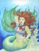 Underwater Bellydancer by ellenmillion