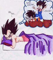 A Vegeta Dream by machi