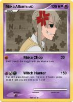 Maka Albarn, Pokemon Card by anime-artist-love