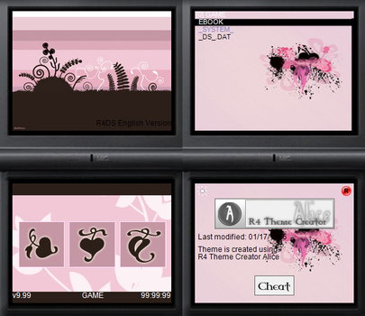 NDS theme: My Abstraction by Reameth