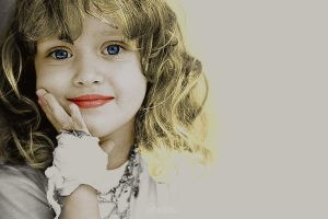 Colorized girl by abrden