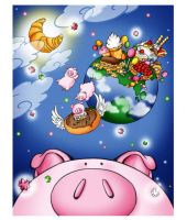 What pigs dream of by Zzzeus