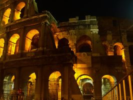 Colosseum by Night 2 by superflyninja