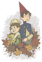 Over the Garden Wall by disconsolance