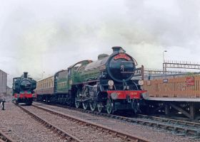 Engine change at Tyseley by Brit31