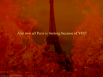 French hellfire by mariekelikestodrawn