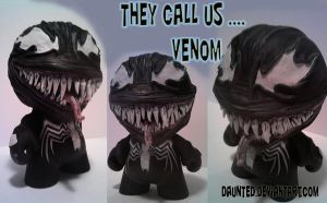 Classic Venom Munny Custom by daunted