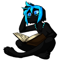 Yils Is Trying To Read by Arlymone
