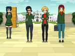 My OCs (Made with Kisekae) by YouGotBloodOnMySuit