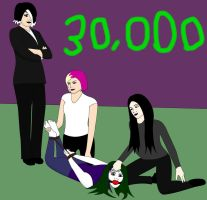 30,000 Pageviews by jokerismyname
