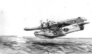 PBY Catalina by Bidass