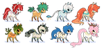Pixel Pone Adopts 0/8 CLOSED by Tea-Adoptables