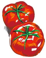 Tomatoes by DustyPaintbrush