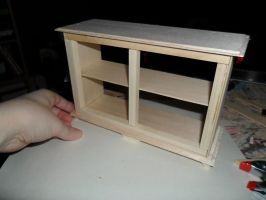 1:6 scale buffet WIP #1 by kayanah