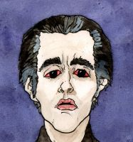 Christopher Lee Dracula by Rather-Drawn