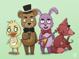 PRINT! FNAF AC Style by ms-aibee