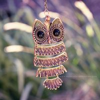 Owl Pendant by Frances23