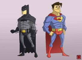 Batz and Supes by CheungKinMen