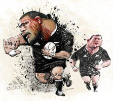 Keven Mealamu and Tony Woodcock by space-for-thought