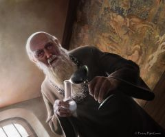 Grand Maester Pycelle by Thaldir