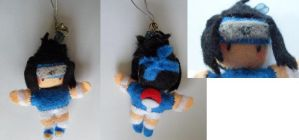 Sasuke Uchiha mini plush by Mayu-96
