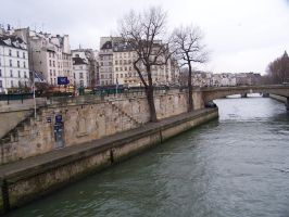 Paris - River Seine - stock by inner-outsider