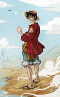 Luffy by znodden