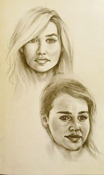 A song of Emilia and Daenerys by dropeverythingnow