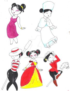 pucca dresses by graphi-lightning