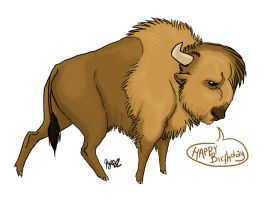 Buffalo for Pap by Dipp