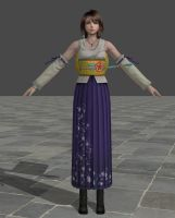Yuna - Mod for XPS by TheForgottenSaint47