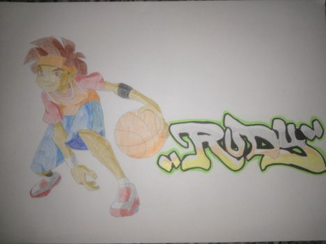 Rudy from the basketeers by Ridwanxridwan