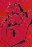 Rodimus Prime color sketch by MarceloMatere