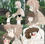 Human LBT Young littlefoot and his mum love by Animedalek1