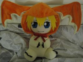 T.K in patamon mascot plush by aSourLemon