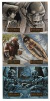 Lord of the Rings 2-card sets by RayDillon