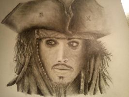 Captain Jack Sparrow by MariMalicious