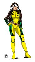 Rogue 5  2013  Inks By Steveandrew by Kenkira