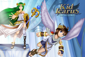 Kid Icarus Uprising! by uvina