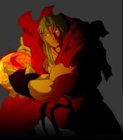 Ken Masters Collaboration by monicle