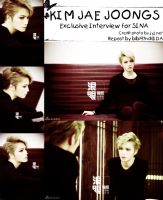 [HQPics]Kim Jaejoongs Exclusive Interview for SINA by bibi97nd