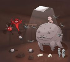 Alphabet of Gaming: Binding of Isaac by IMONFIREGUYx
