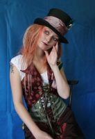 Lady Mad Hatter Portrait 2 by mizzd-stock