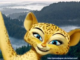 ~Madagascar 3 Gia's mom ~ by GiaRealJaguar