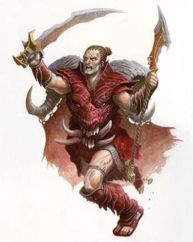 Orcus is a Wimp by McHughstudios