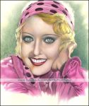 Portrait of Joan Blondell by Artman2112