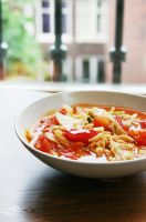 Stir fried Cabbage with tomato by camnhungth
