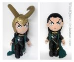 Giant Loki Plushie by WindQueen