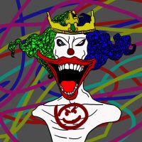 The Clown In The Crown by Polygon-Eyes