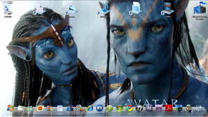 Avatar Desktop - Windwos 7 by fofo128